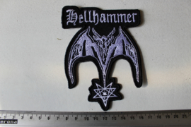 HELLHAMMER - SATANIC RITES ( SHAPED )