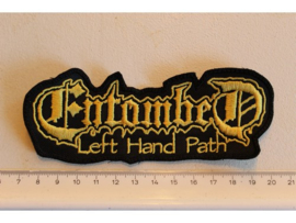 ENTOMBED - LEFT HAND PATH ( YELLOW )