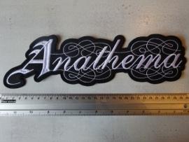 ANATHEMA - WHITE LOGO