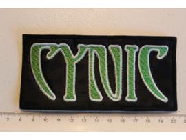 CYNIC - GREEN/WHITE NAME LOGO
