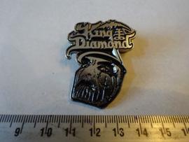 KING DIAMOND - FACE + NAME LOGO