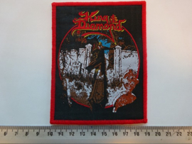 KING DIAMOND - SONGS FOR THE DEAD ( RED BORDER ) WOVEN