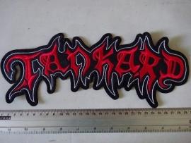 TANKARD - RED/WHITE NAME LOGO
