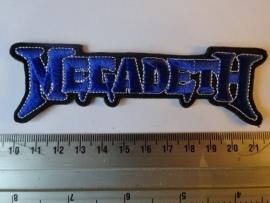 MEGADETH - BLUE LOGO