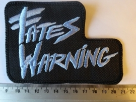 FATES WARNING - BLUE LOGO