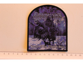 DISSECTION - STORM OF THE LIGH'S BANE ( BLACK BORDER ) WOVEN