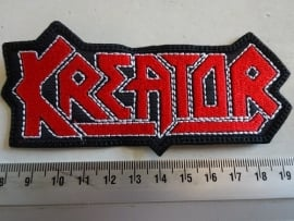 KREATOR - RED/WHITE LOGO