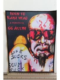 GG ALLIN - BORN TO RAISE HEAD