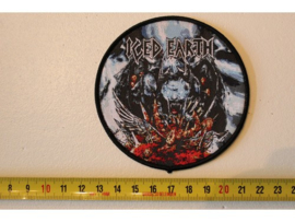 ICED EARTH - TRIBUTE TO THE GODS (  BLACK BORDER ) WOVEN