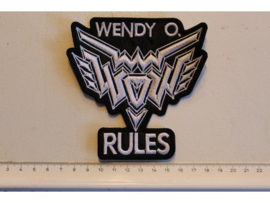 WENDY O WILLIAMS - RULES