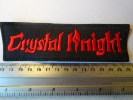 CRYSTAL KNIGHT - RED LOGO