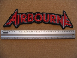 AIRBOURNE - RED LOGO