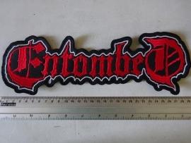 ENTOMBED - RED LOGO