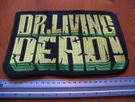 DR. LIVING DEAD - YELLOW/GREEN LOGO