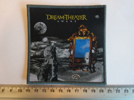DREAM THEATER - AWAKE ( GREY BORDER ) WOVEN