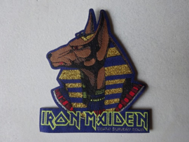 IRON MAIDEN - POWERSLAVE WORLD SLAVERY TOUR 1985 (WOVEN) NUMBERED
