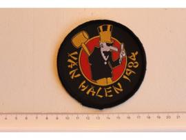 VAN HALEN - 1984 ( BLACK BORDER ) WOVEN ORIGINAL CIRCLED