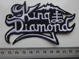 KING DIAMOND - SHAPED WHITE LOGO