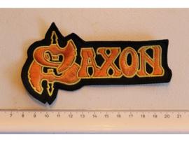 SAXON - ORANGE/YELLOW NAME LOGO