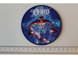 DIO - DIAMONDS ( BLUE BORDER ) WOVEN