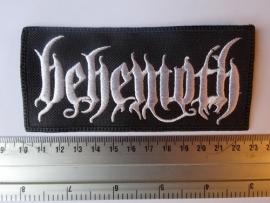BEHEMOTH - WHITE LOGO