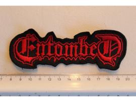 ENTOMBED - RED NAME LOGO