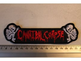 CANNIBAL CORPSE - RED NAME LOGO + FOETUS