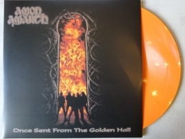 AMON AMARTH - ONCE SENT FROM THE GOLDEN HALL ( ORANGE VINYL )
