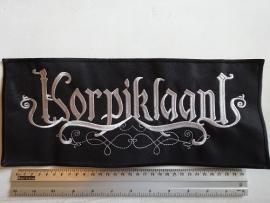 KORPIKLAANI - GREY/WHITE NAME LOGO