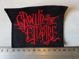 CROWN THE EMPIRE - RED LOGO
