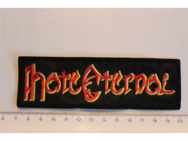 HATE ETERNAL - RED/YELLOW NAME LOGO