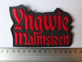 YNGWIE MALMSTEEN - RED LOGO