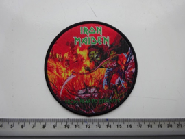 IRON MAIDEN - FROM FEAR TO ETERNITY ( BLACK BORDER ) WOVEN