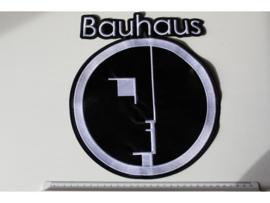 BAUHAUS - WHITE LOGO