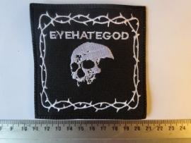 EYEHATEGOD - WHITE LOGO