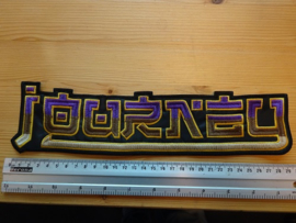 JOURNEY - PURPLE/YELLOW NAME LOGO