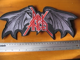 DARK ANGEL - RED/WHITE LOGO + WINGS
