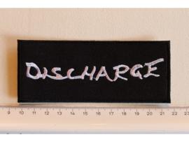 DISCHARGE - WHITE NAME LOGO