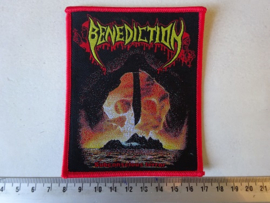 BENEDICTION - SUBCONSCIOUS TERROR ( RED BORDER )