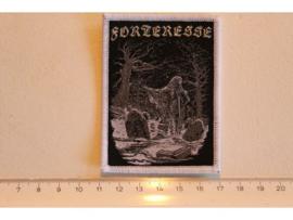 FORTERESSE - GRAVEYARD ( WHITE BORDER ) WOVEN