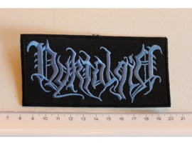 NYKTALGIA - BLUE NAME LOGO