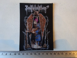 INQUISITION - INVOKING THE MAJESTIC THRONE OF SATAN ( WOVEN )
