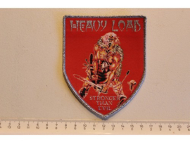 HEAVY LOAD - STRONGER THAN EVIL ( SILVER BORDER ) WOVEN