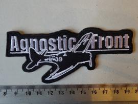 AGNOSTIC FRONT - PLANE 39