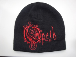 OPETH - RED NAME LOGO