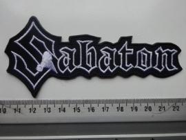 SABATON - WHITE/BLACK LOGO