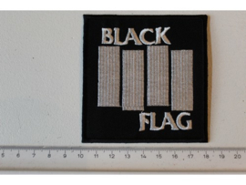 BLACK FLAG - WHITE NAME LOGO