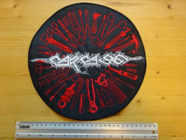 CARCASS - SURGICAL STEEL ( WHITE/RED )