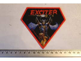 EXCITER - LONG LIVE THE LOUD ( RED BORDER ) WOVEN
