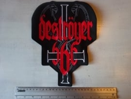 DESTROYER 666 - SNAKE LOGO + WHITE CROSS